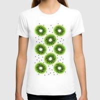 kiwi T-shirts featuring Kiwi by beach please