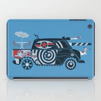 tank girl iPad Cases featuring Vantastic Tank Girl by Brandon Ortwein