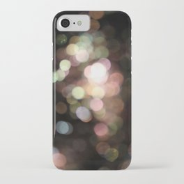 Bubbly Bokeh iPhone Case
