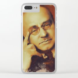 Alfred Adler, Psychotherapist Clear iPhone Case