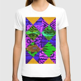 Mardi Gras African Print T-shirt