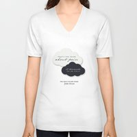 fault in our stars V-neck T-shirts featuring The Fault in Our Stars by thatfandomshop
