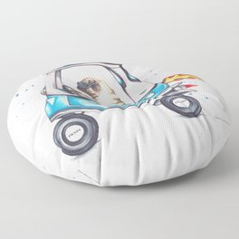 Pug Life Floor Pillow