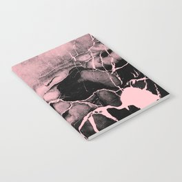 Black Marble and Pink Notebook