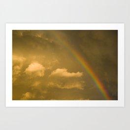 somewhere, over the rainbow... Art Print