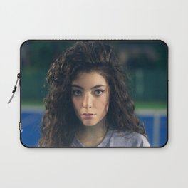 Lorde - Tennis Court Head Shot Laptop Sleeve