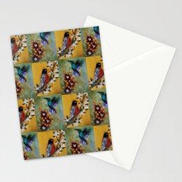 Hummingbird and Robin Stationery Cards