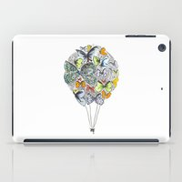 bows iPad Cases featuring Bows & Butterflies by Romina M.