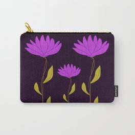 Pink Abstract Beauty Carry-All Pouch