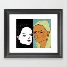 Sister Sister Framed Art Print