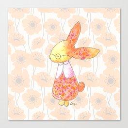 Grandma Bunny Canvas Print
