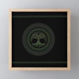 Celtic Tree Of Life Framed Mini Art Print