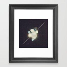 Many Moons (Between Us) Framed Art Print