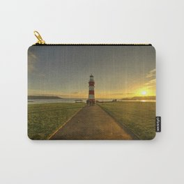 Smeaton's Tower Sunset  Carry-All Pouch