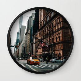 New York City Street Wall Clock