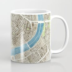 New Orleans City Map Coffee Mug