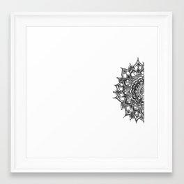henna bes Framed Art Print