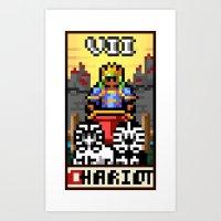 Arcade Arcanum - The Chariot  Art Print