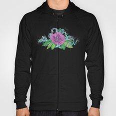hibiscus surf grape Hoody