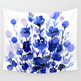 Floral Charm No.1by Kathy Morton Stanion Wall Tapestry
