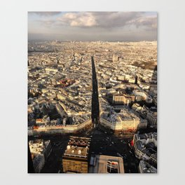 Montparnasse Canvas Print