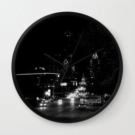 downtown austin, texas Wall Clock