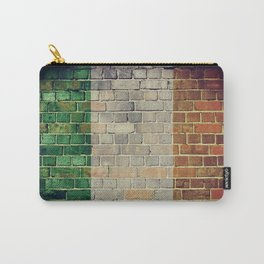 Vintage Ireland flag Carry-All Pouch