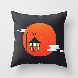 Light bearing Throw Pillow