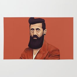 The Israeli Hipster leaders - Binyamin Ze'ev Herzl Rug