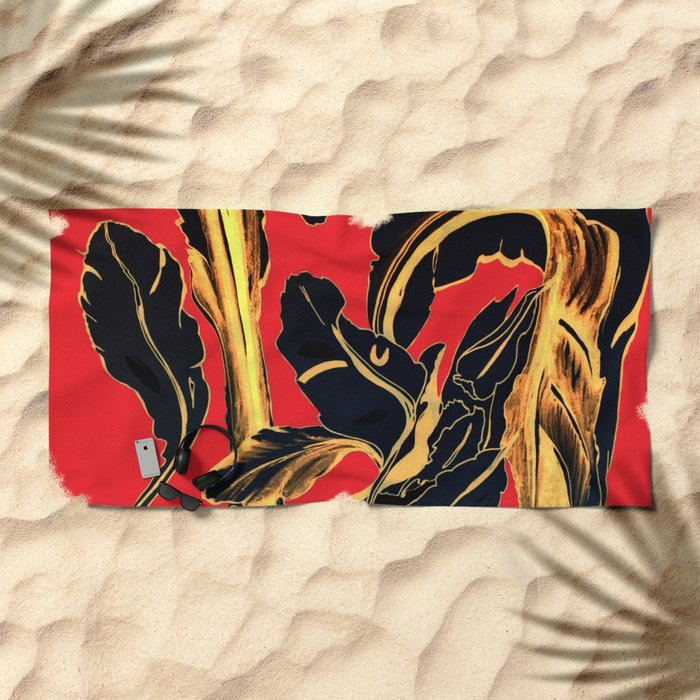 Succulent at Christmas Time, Its the Most Wonderful Time of the Year Beach Towel