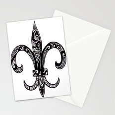 Fleur Di Lis  Stationery Cards