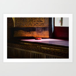 Sunlight in the Temple of The Reclining Buddha Art Print
