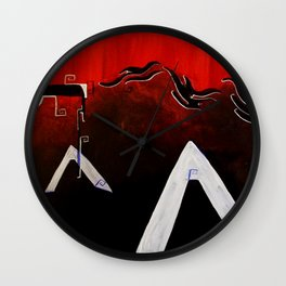 Organized Chaos Wall Clock