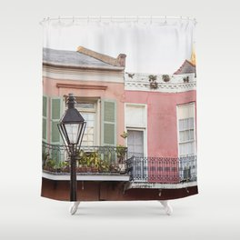 New Orleans Golden Hour in the Quarter Shower Curtain