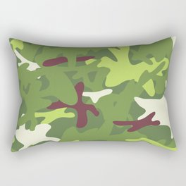 Camouflage military background. Rectangular Pillow