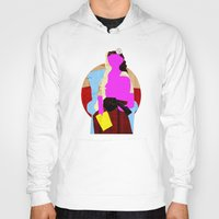 picasso Hoodies featuring Picasso Woman by Marko Köppe