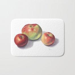 Heirloom Apples Bath Mat