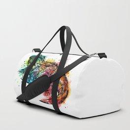 Colourful Tuatara Duffle Bag