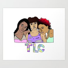TLC Art Print