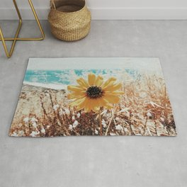 Yellow Hello Rug