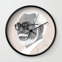 Hayao Miyazaki Wall Clock