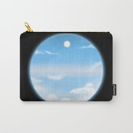 World Within Me - Blue Carry-All Pouch