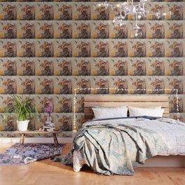 "Giraffe - Animal - ""Presence"" by LiliFlore Wallpaper"