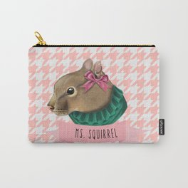 MS. SQUIRREL Carry-All Pouch