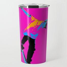"""Flipping the Deck"" Skateboarding Stunt Travel Mug"