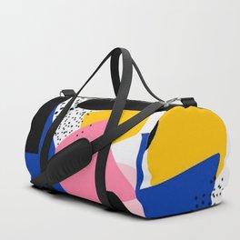 PRINT BLOCK COLOUR Duffle Bag