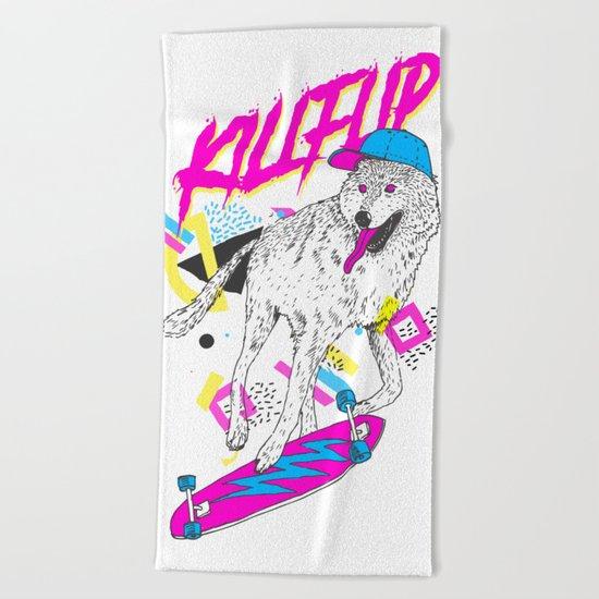Killflip Beach Towel