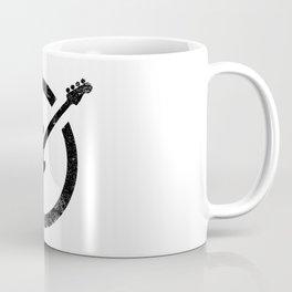 Bass Guitar Ink Stamp Coffee Mug