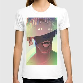 Ebony Coral Headdress Colors T-shirt