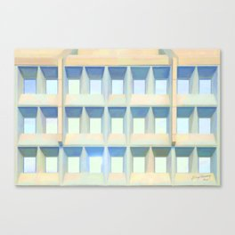 Decorated Concrete 002 Canvas Print